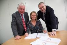 £5.6m partnership contracts are signed