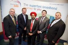 Superfast Telford was officially launched today
